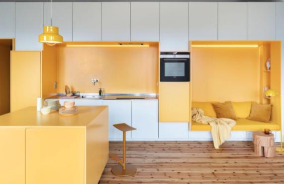 Giallo e interior design